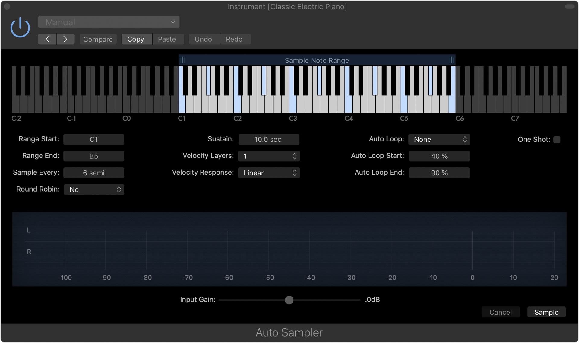 Learn how to configure Auto Sampler settings.